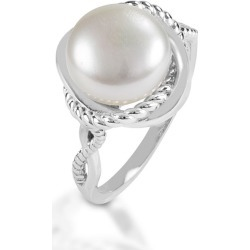 Kelly Herd Twisted Rope Pearl Ring 8 found on Bargain Bro India from Horse.com for $125.00