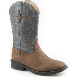 Roper Big Kids Adelia Square Toe Boots 5 found on Bargain Bro India from StateLineTack.com for $66.99