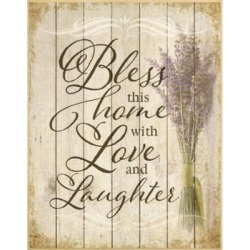 "Dexsa Bless This Home 12"" x 15"" Plaque"