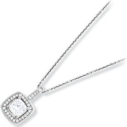 Kelly Herd Cubic Zirconia Square Pendant found on Bargain Bro India from Horse.com for $137.50