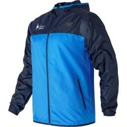 Mens NYC Marathon Training Jacket Blue