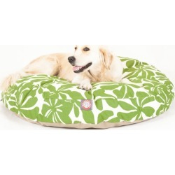 Majestic Outdoor Sage Plantation Round Pet Bed MD