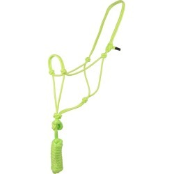 Basic Poly Rope Halter w/Lead Lime found on Bargain Bro from StateLineTack.com for USD $9.95