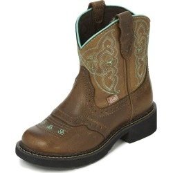 Justin Gypsy Kids Tan Buffalo Round Toe Boot 12 found on Bargain Bro India from Horse.com for $74.95