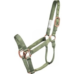 Classic Nylon Halter w/ Rolled Throat Average Cypr found on Bargain Bro Philippines from StateLineTack.com for $22.49