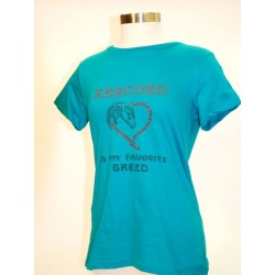 Starrider Rescued Is My Favorite Tee LG Jade found on Bargain Bro India from Horse.com for $36.95