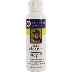 Miracle Care Ear Cleaner for Pets 4 Ounces