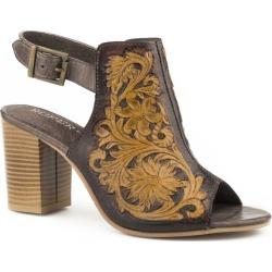 Roper Ladies Mika Brown Shoes 5.5