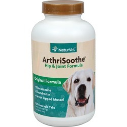 Naturvet ArthriSoothe Hip & Joint Formula Tabs 250 found on Bargain Bro India from Horse.com for $30.99