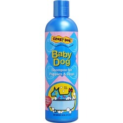 Crazy Dog 12oz Dog Shampoo Baby Powder