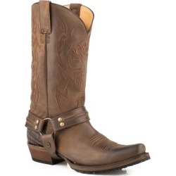 Roper Mens Skull Snip Toe Brown Boots 15EE found on Bargain Bro India from StateLineTack.com for $202.99