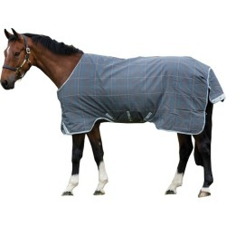 Rhino Original Turnout Lite 69 Charcoal/Blue/White found on Bargain Bro Philippines from StateLineTack.com for $199.95