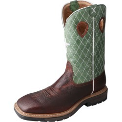 Twisted X Mens Lite Cowboy Lime Work Boots 9.5 EE found on Bargain Bro India from Horse.com for $179.95