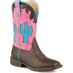 Roper Kids Cactus Square Toe Boots 11 found on Bargain Bro India from Horse.com for $55.99