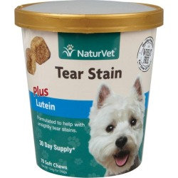 NaturVet Tear Stain with Lutein Soft Chew