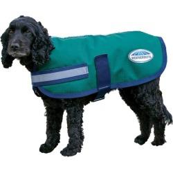 WeatherBeeta Parka 1200D Dog Coat 12 Hunter/Navy
