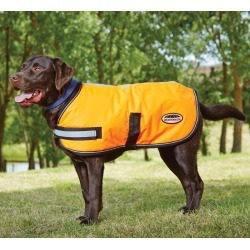 WeatherBeeta Reflective Dog Parka 300D 20 Orange found on Bargain Bro India from Horse.com for $42.95