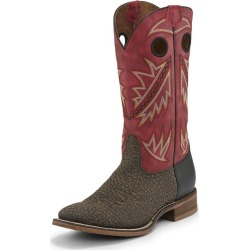 Nocona Mens Sq Toe Go Round Ruby Red Boots 11 2E found on Bargain Bro India from StateLineTack.com for $129.95