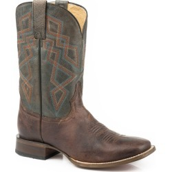 Roper Mens Triumph Square Toe Boots 10D found on Bargain Bro India from Horse.com for $194.65