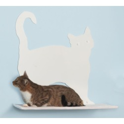Cat Silhouette Cat Shelves Prance Red found on Bargain Bro from petsupplies.com for USD $114.37