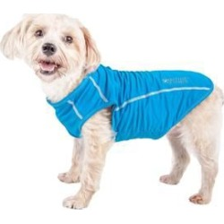 Pet Life Active Racerbark Dog Shirt Large Sky found on Bargain Bro Philippines from petsupplies.com for $24.99