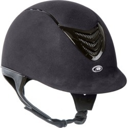 IRH IR4G Gloss Vent Helmet Small Black Suede found on Bargain Bro India from Horse.com for $219.95