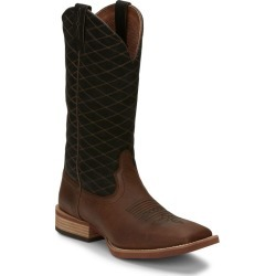 Justin Mens Cattler Sq Boots 11 D Brown found on Bargain Bro India from Horse.com for $168.85