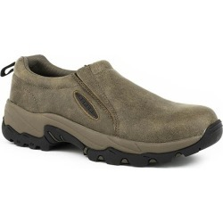 Roper Mens Air Light Slip-On Tan Shoes 10 found on Bargain Bro India from StateLineTack.com for $93.99