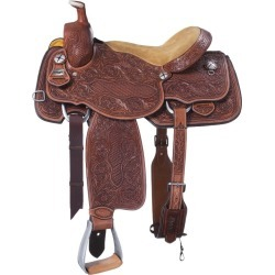Silver Royal Weston Roper Saddle 15in found on Bargain Bro from StateLineTack.com for USD $516.04