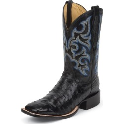 Justin Mens FQ Ostrich Black Shadow Boots 13D found on Bargain Bro from Horse.com for USD $270.19