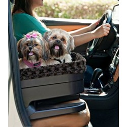 Pet Gear Bucket Seat Booster with Chocolate 22in