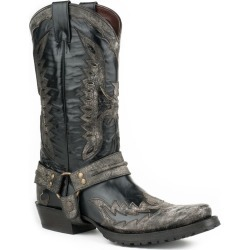 Stetson Mens Outlaw Toe Blk Eagle Boots 7 EE found on Bargain Bro Philippines from Horse.com for $334.90