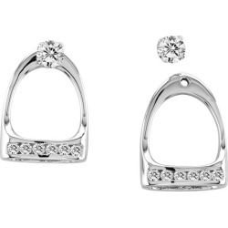 Kelly Herd English Stirrup Earrings found on Bargain Bro India from Horse.com for $153.98