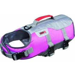 AquaFloat Dog Life Vest Large Pink/Silver found on Bargain Bro India from Dog.com for $50.00
