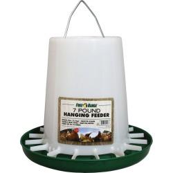 Harris Farms Plastic Hanging Poultry Feeder 7 Poun