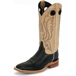Justin Mens Bent Rail Sq Toe Boots 6.5D Tan found on Bargain Bro India from StateLineTack.com for $182.18