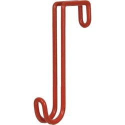 Mustang Vinyl Coated 8in Tack Hook Red found on Bargain Bro Philippines from StateLineTack.com for $7.69