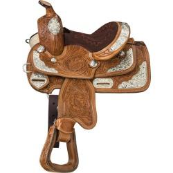Silver Royal McCoy Trail Mini Saddle Medium Oil found on Bargain Bro from Horse.com for USD $136.04