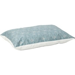 Quiet Time Script Blue Pillow Dog Bed 48x36 found on Bargain Bro India from Horse.com for $47.49