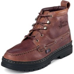 Justin Ladies Rustic Cowhide Chukka Boots 6 found on Bargain Bro India from Horse.com for $99.95