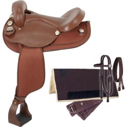 Tough-1 Eclipse 5-Pc Hornless Endur Sdl Package 16 found on Bargain Bro India from StateLineTack.com for $319.00