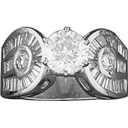 Kelly Herd Round Stone Horseshoe Ring 8 found on Bargain Bro India from Horse.com for $174.90