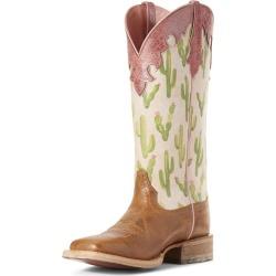 Ariat Ladies Fonda Sq Toe Cactus Print Boots 9 found on Bargain Bro Philippines from StateLineTack.com for $159.96
