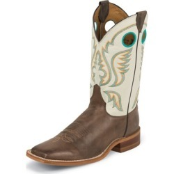 Justin Mens Bent Rail Sq Choc America Boots 8.5D found on Bargain Bro India from StateLineTack.com for $182.18