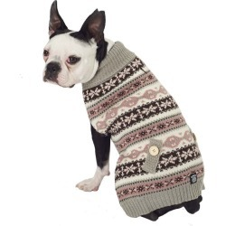 Petrageous Fair Isle Dog Sweater XLarge Taupe found on Bargain Bro India from StateLineTack.com for $16.99