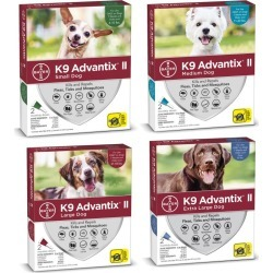 K9 Advantix II for Dogs 2-Month Supply Over 55lb found on Bargain Bro Philippines from Horse.com for $28.99