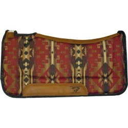 Diamond Wool Contoured Ranch Pad 32X32 Indian found on Bargain Bro Philippines from Horse.com for $138.99