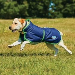 WeatherBeeta Parka 1200 Deluxe Dog Coat 12 Navy/Li