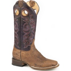 Roper Ladies Flex Lulu Sq Toe Boots 5 B Brown found on Bargain Bro India from Horse.com for $211.99