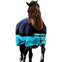 Mio Turnout Sheet Lite 84 Black/Turquoise found on Bargain Bro Philippines from StateLineTack.com for $79.95